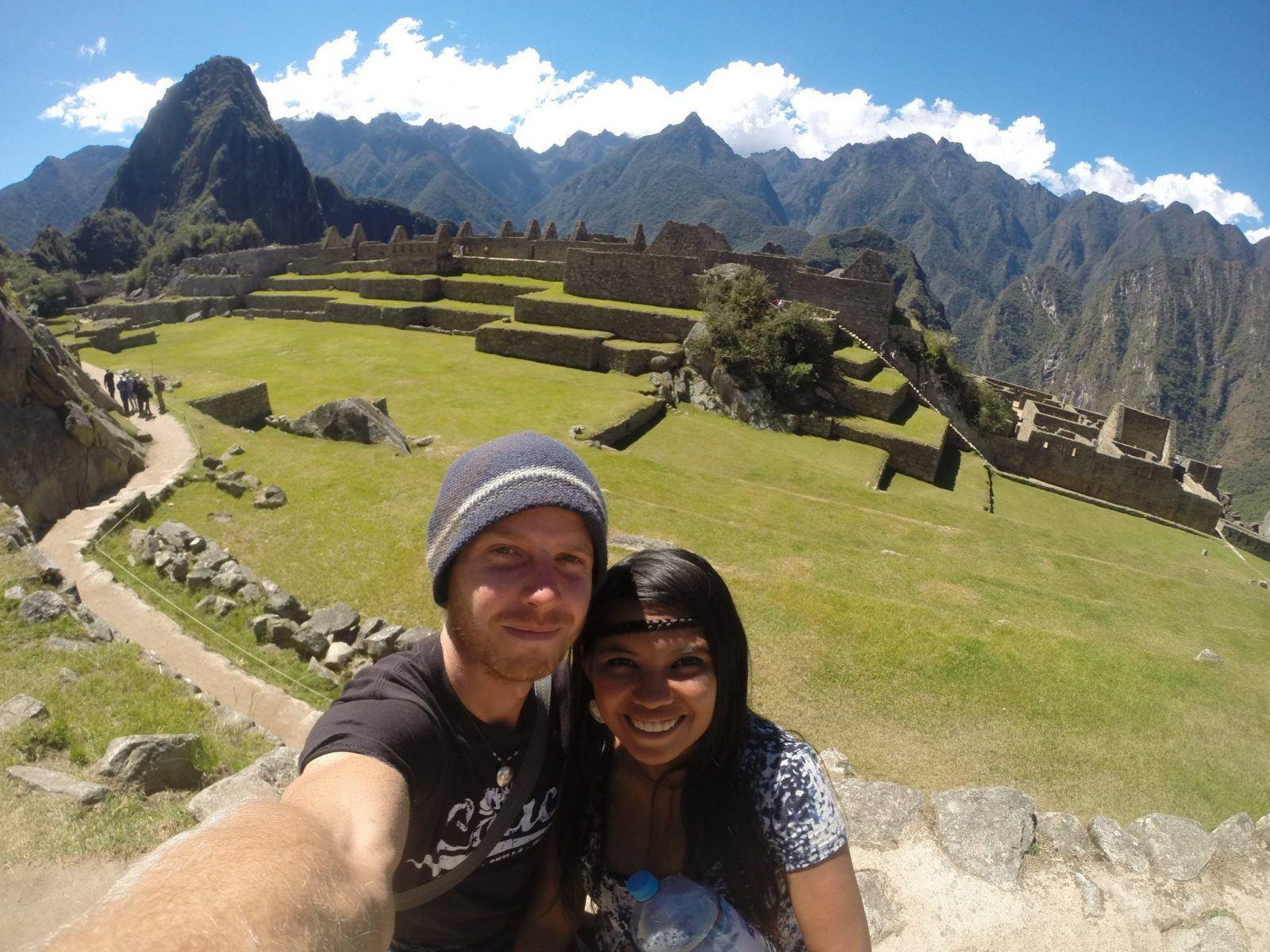 sustainable travel lifestyle - Filipina Backpacker in Machu Picchu