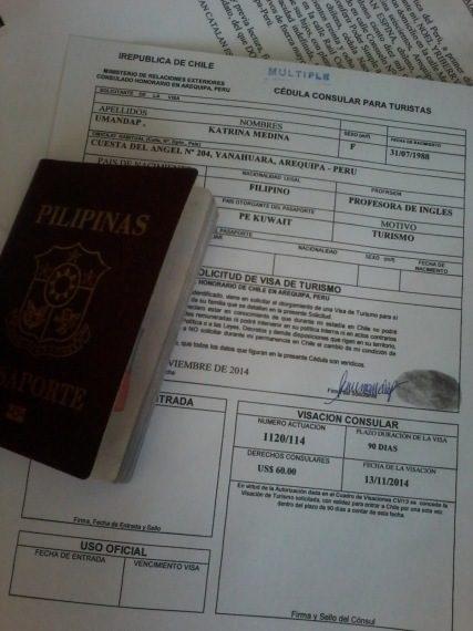 chile tourist visa
