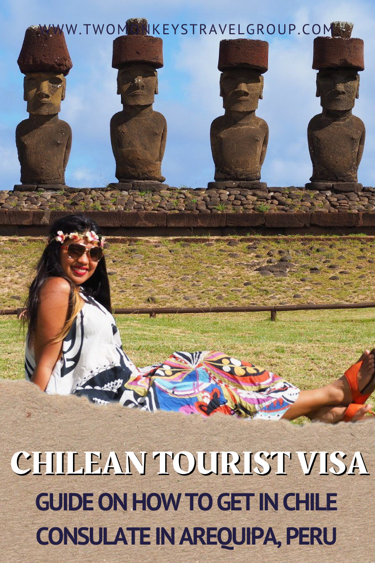 For Filipinos How to get a Chilean Tourist Visa in Chile Consulate in Arequipa, Peru
