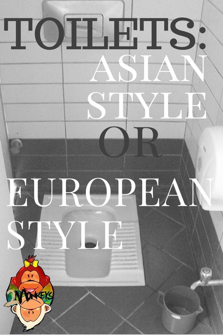 Toilets: Asia vs Europe