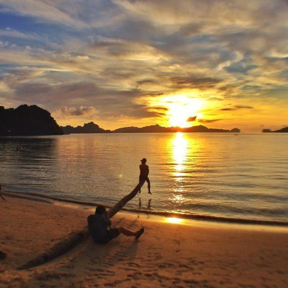 Cover Photo- Sunset Over El Nido