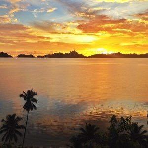 Sunset over Corong Corong El Nido, Palawan