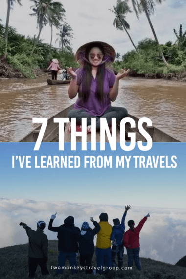 7 Things I've Learned from my Travels1