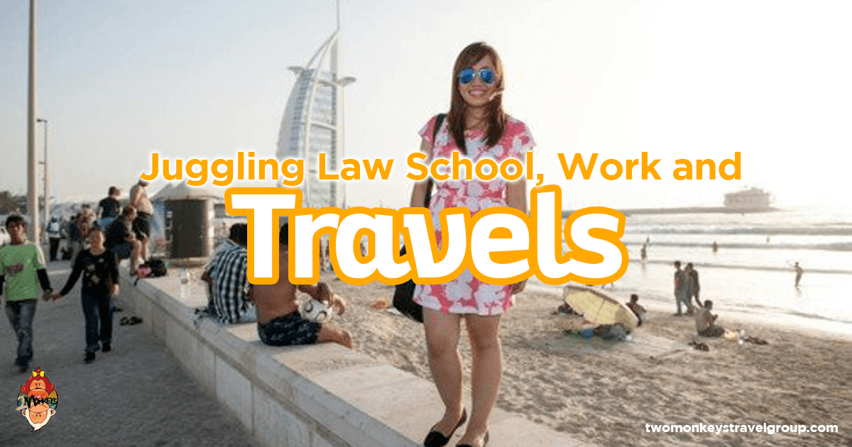 Juggling Law School, Work and Travels
