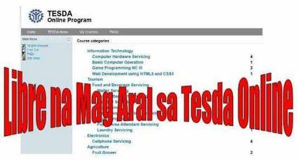 Filipinos, check these TESDA Online Courses For FREE!