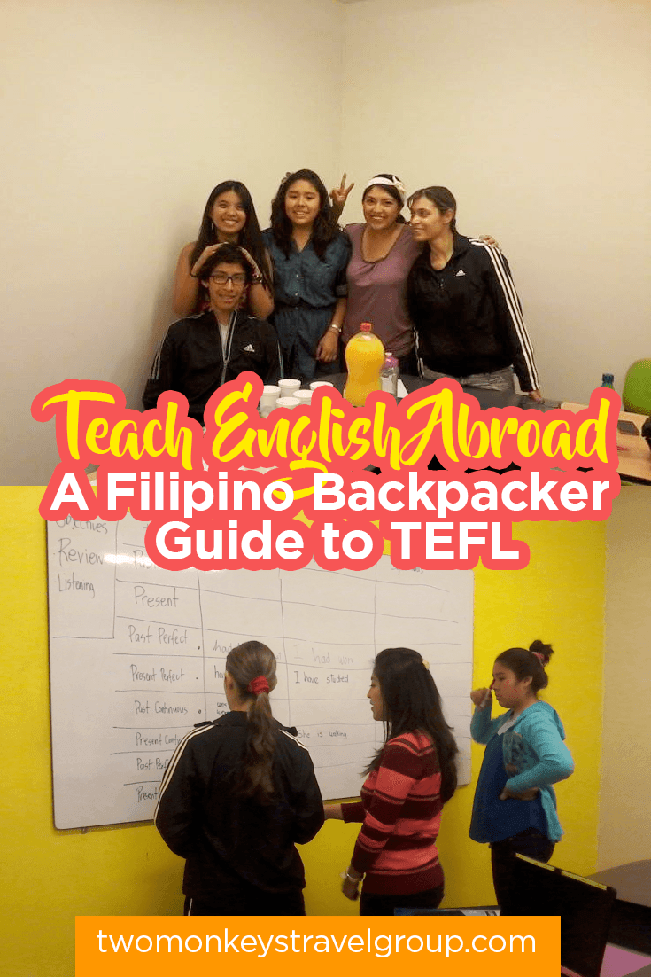 Teach English Abroad - A Filipino Backpacker Guide to TEFL