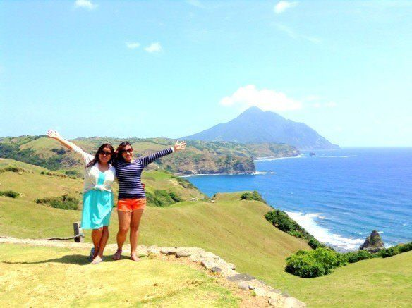 With my highschool bestfriend in Batanes where we took our friendship to the next level—the northern tip of the Philippine archipelago!