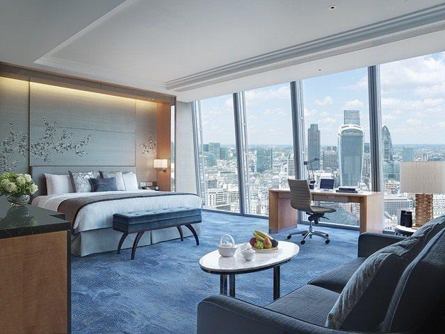 Two Monkeys Travel - Premier City View Room - Shangri la - London - England