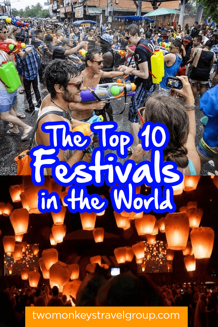 The Top 10 Festivals in the World