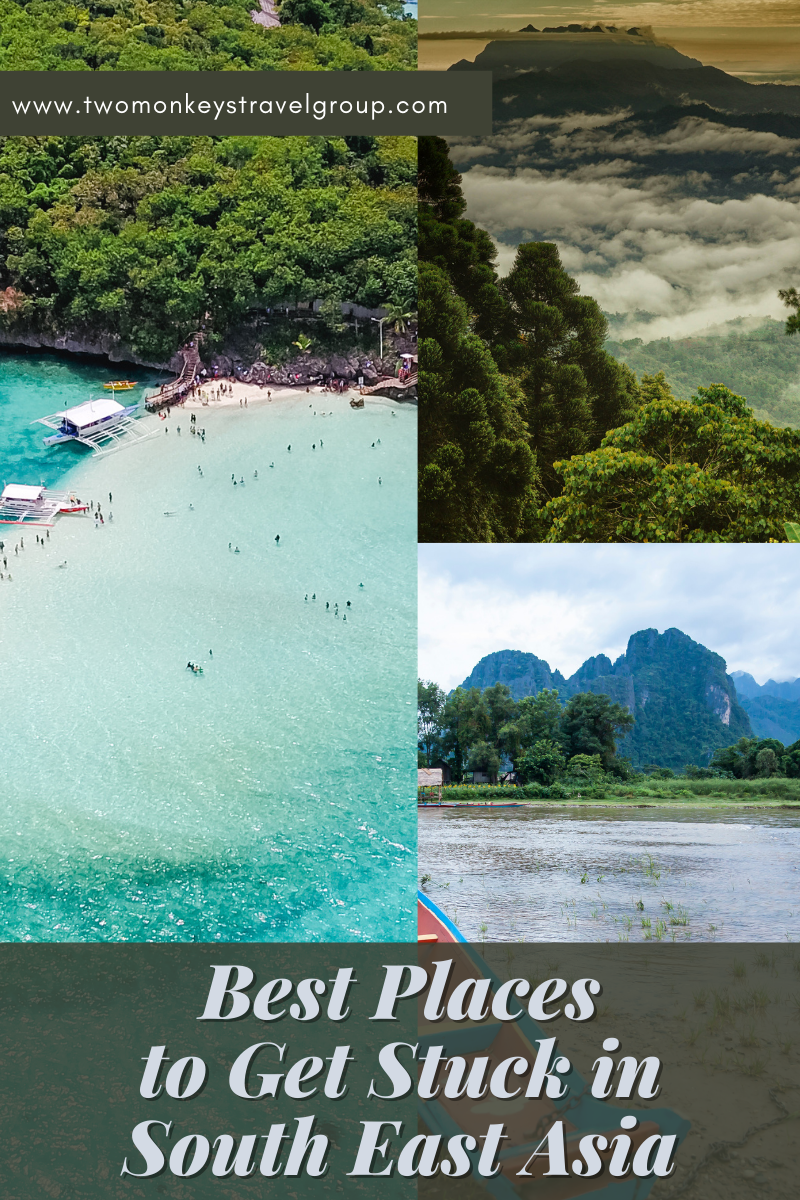 10 Best Places to Get Stuck in South East Asia