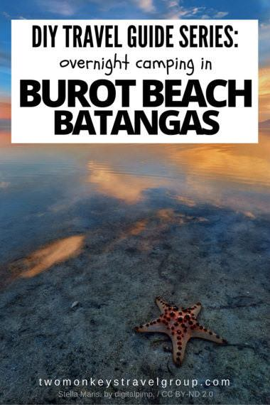 DIY Travel Guide Series: Overnight camping in Burot Beach, Batangas