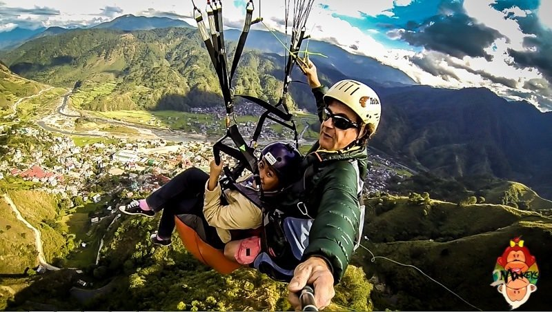 A View from the Top: Paragliding in Bontoc
