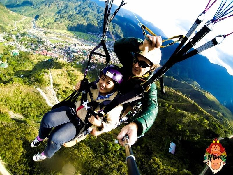 Paragliding in Bontoc