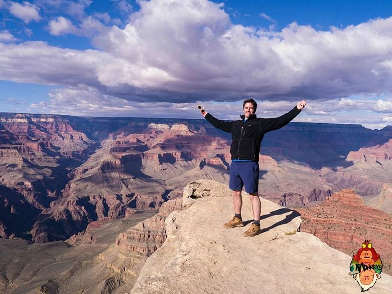 Bask in awe at the Grand Canyon!