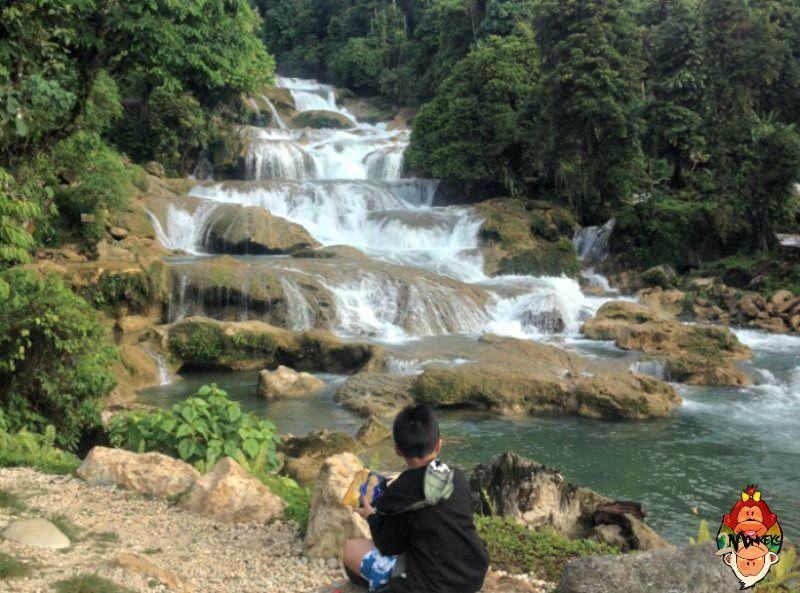 Aliwagwag Falls in Davao