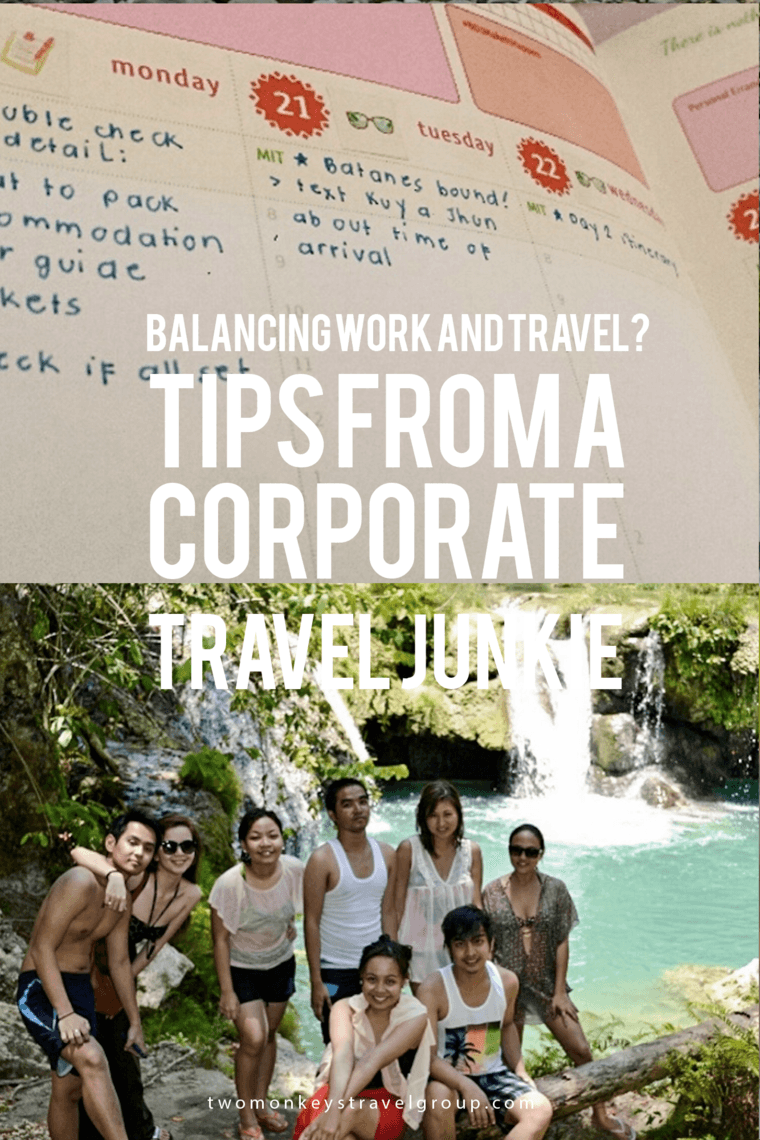 Balancing work and travel? Tips from a Corporate Travel Junkie