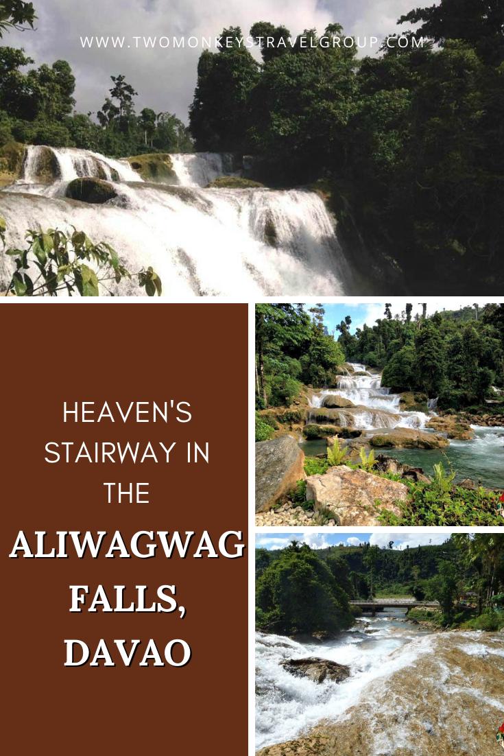 Heaven's Stairway in the Aliwagwag Falls, Davao