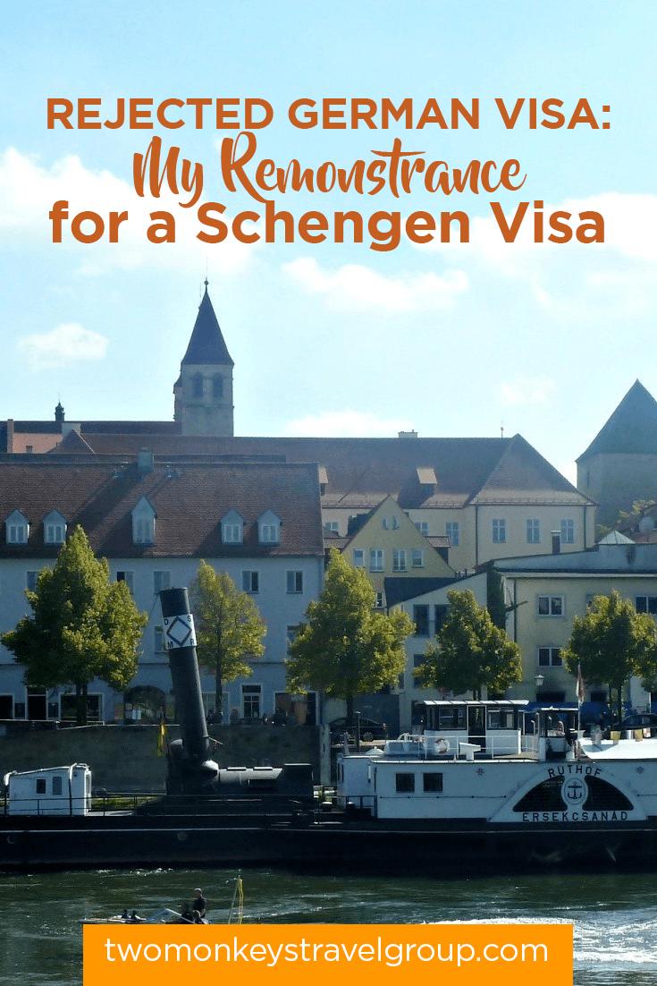 Rejected German Visa: My Remonstrance for a Schengen Visa