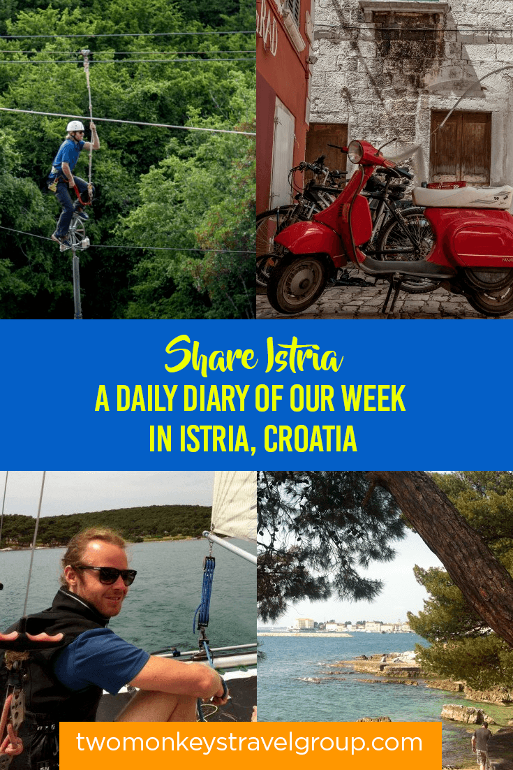 Share Istria - A Daily Diary of our week in Istria, Croatia