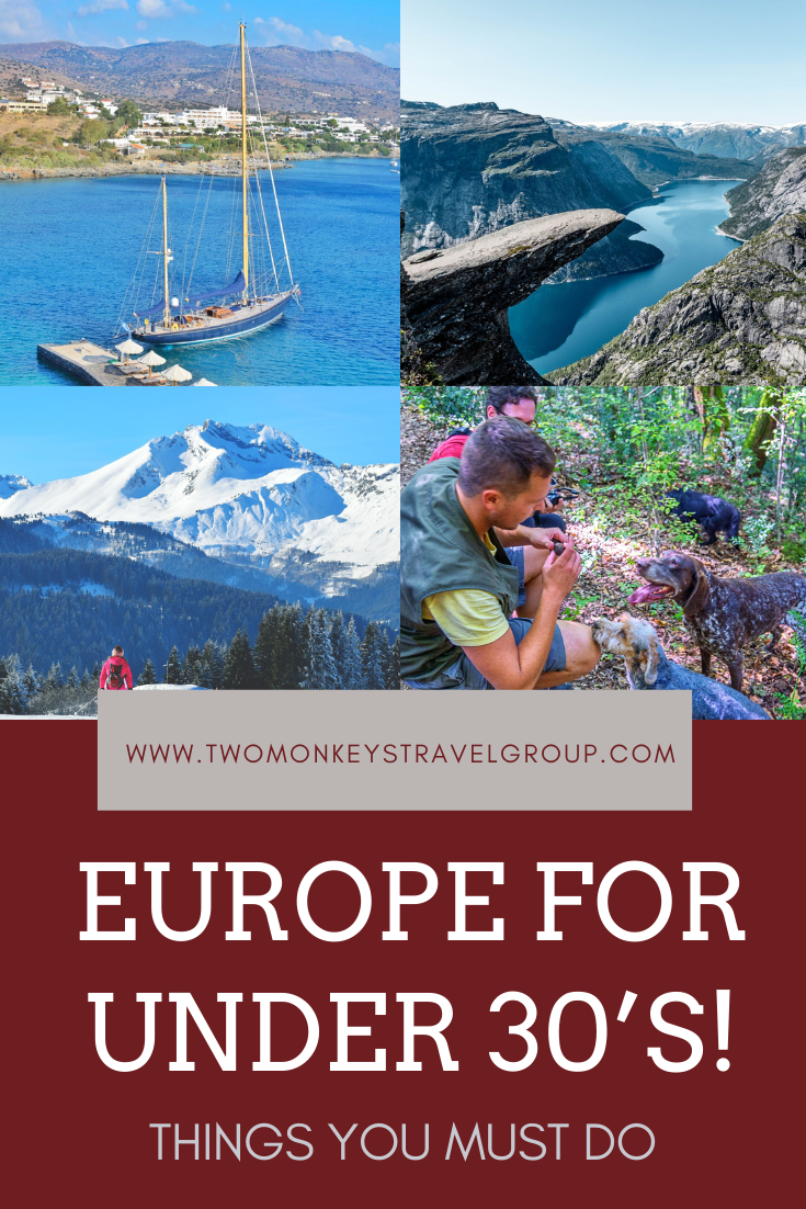 Top 10 things you MUST do in Europe for under 30's