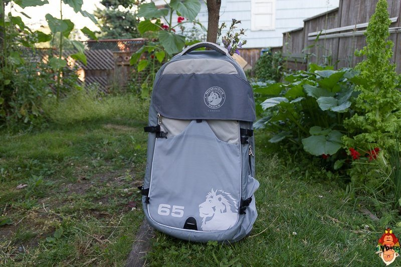 numinous 65 litre backpack