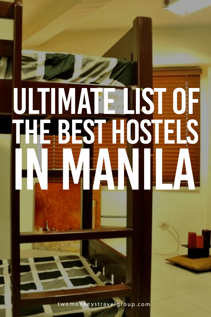 The Ultimate List of the Best Hostels in Manila