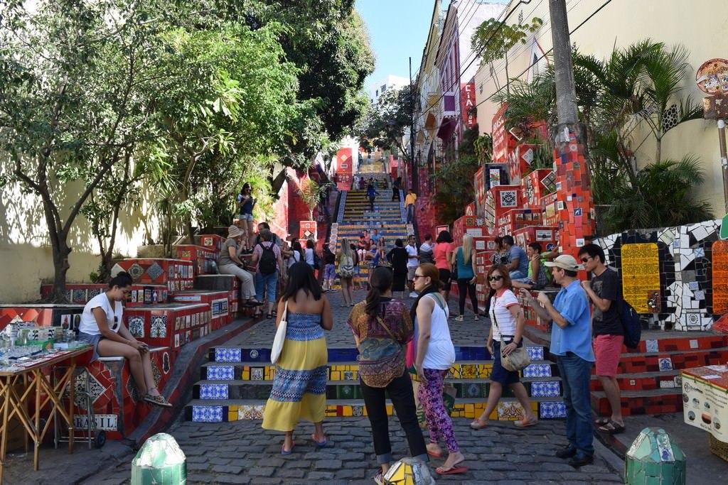 Rio de Janeiro - Lapa Steps - Jorge Selaron - Brazil