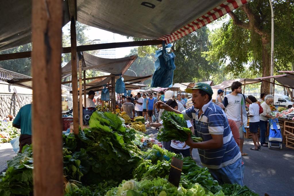 Rio de Janeiro - Gloria market - Brazil