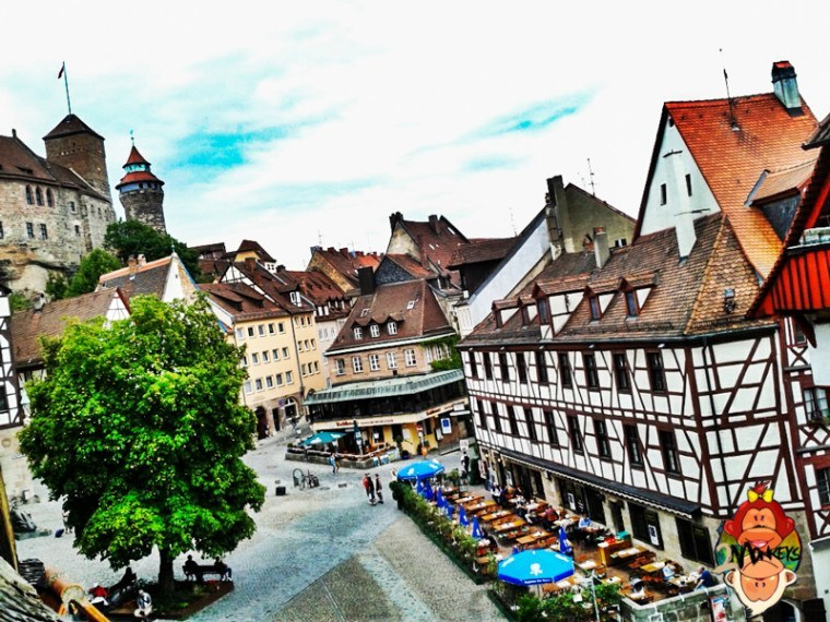 Travel to Europe-Nuremberg, Germany