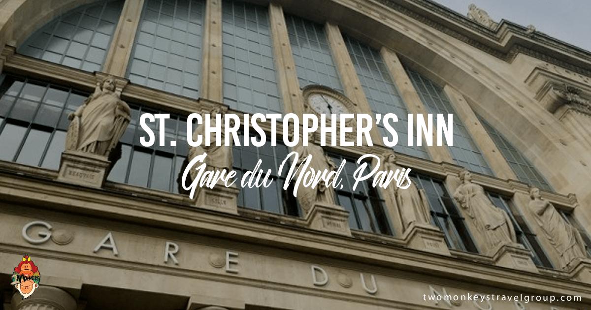 St. Christopher's Inn, Gare du Nord, Paris