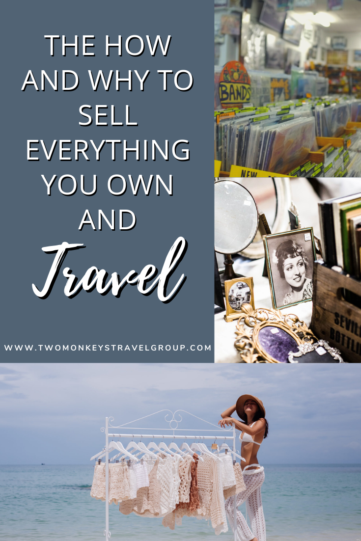The How and Why to Sell Everything You Own and Travel