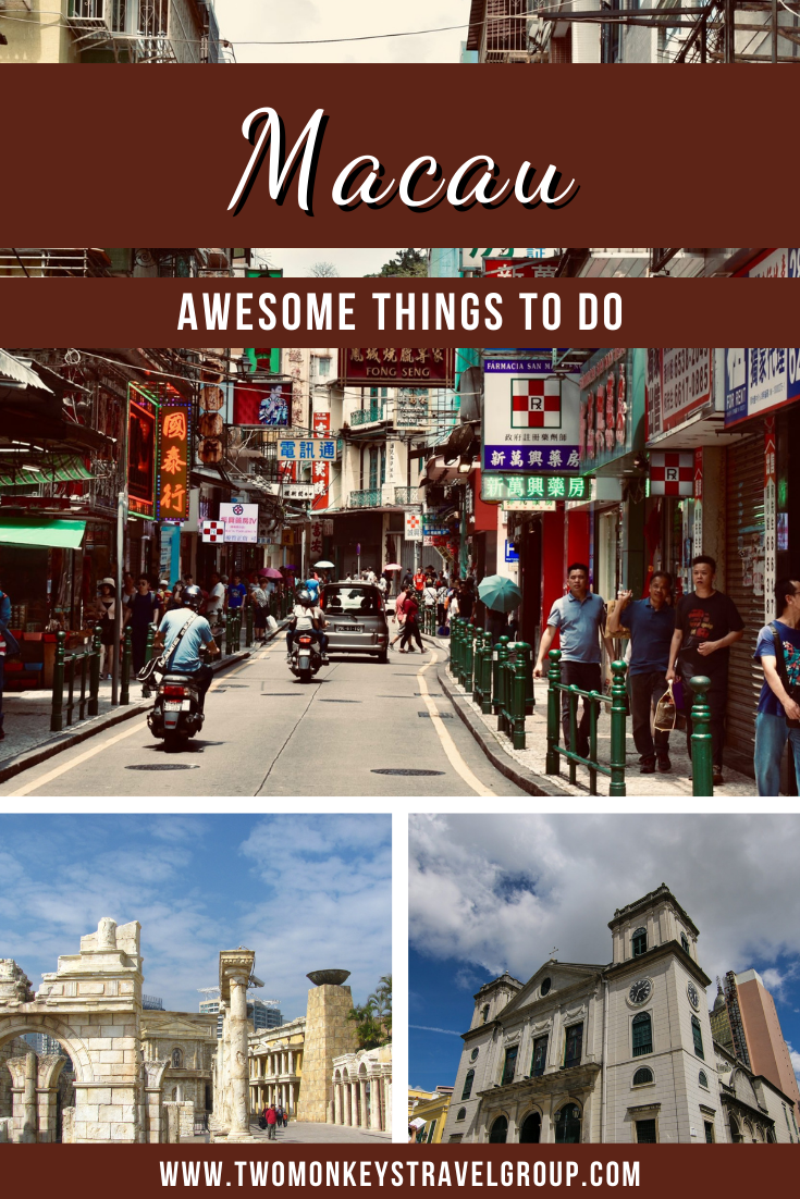 10 Awesome Things to Do in Macau [with Suggested Tours]