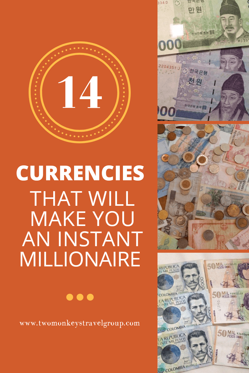 Currencies that Make You an Instant Millionaire