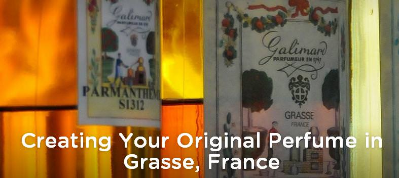 Create you own Perfume in France