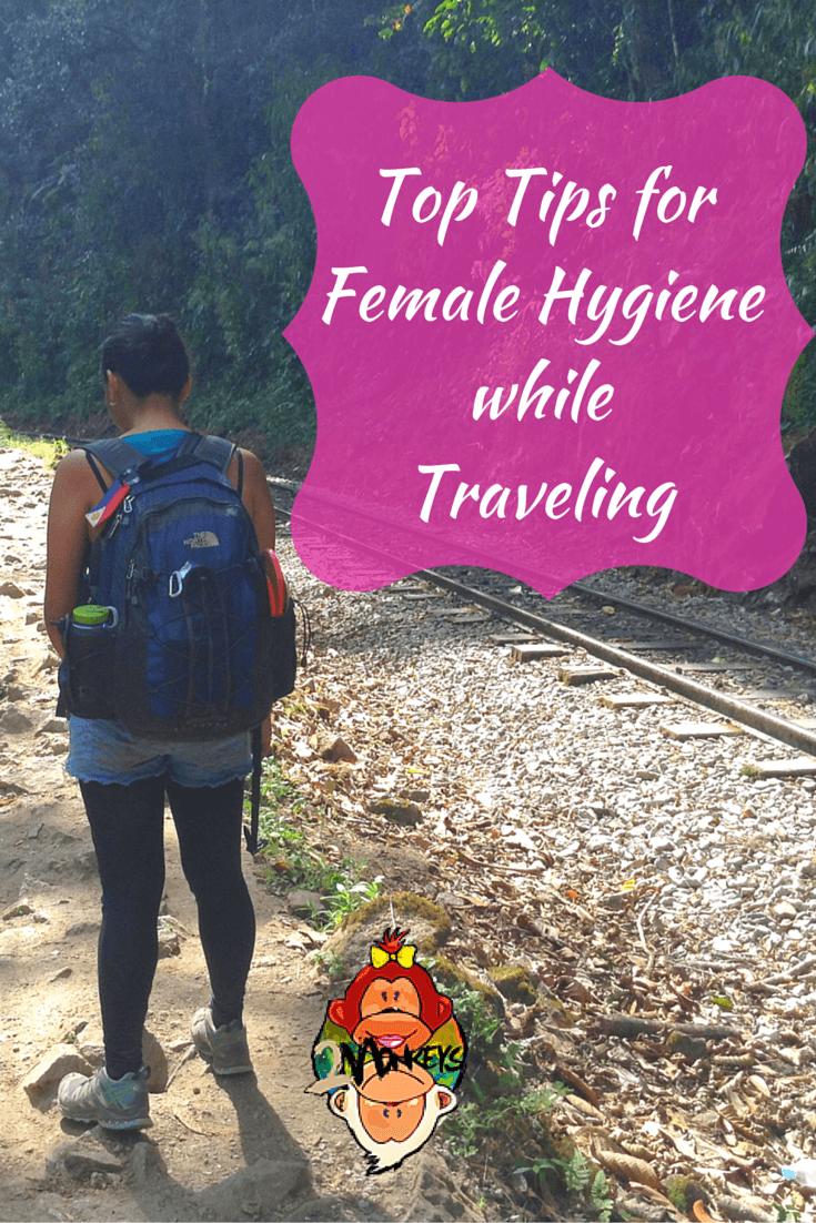 Female Hygiene While Traveling