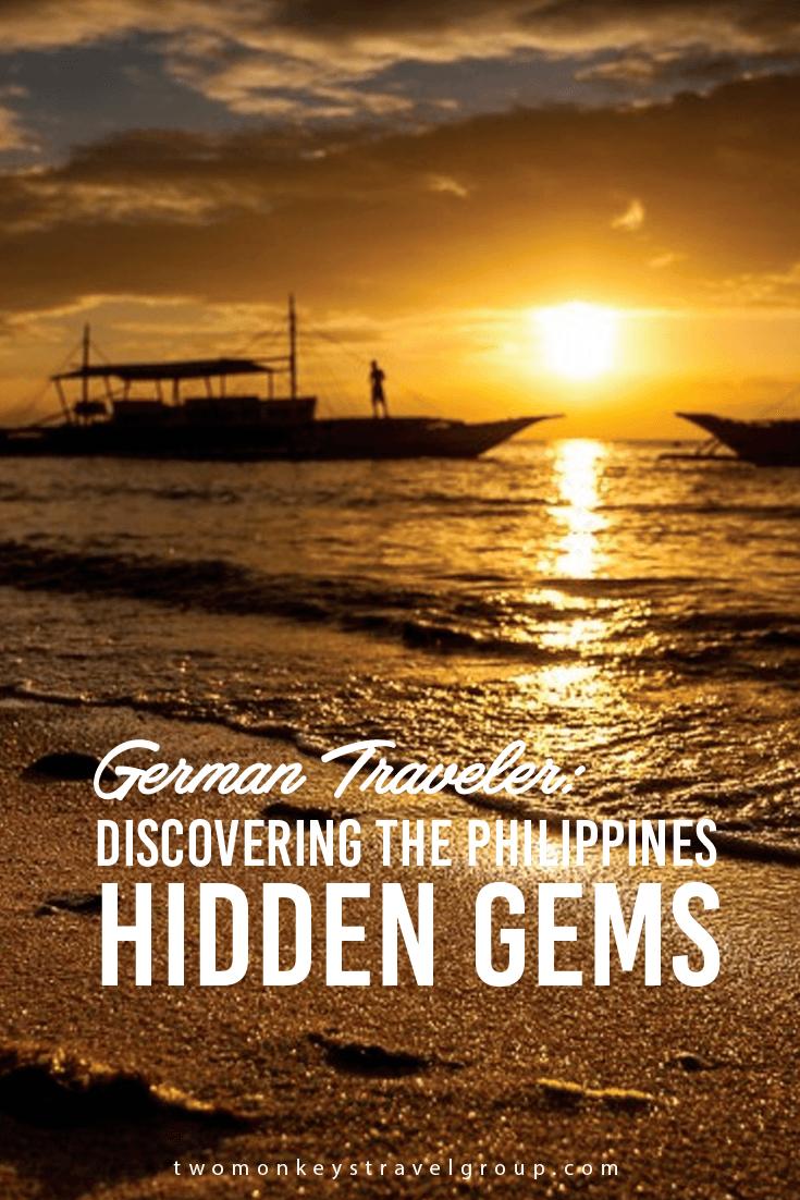 German Traveler Discovering the Philippines Hidden Gems