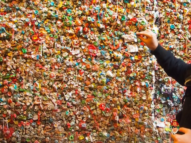 Seattle Gum Wall