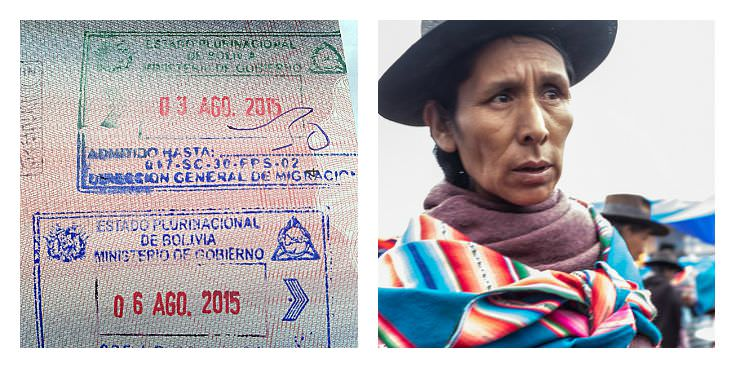 Two Monkeys Travel - Passport Stamps - Bolivia