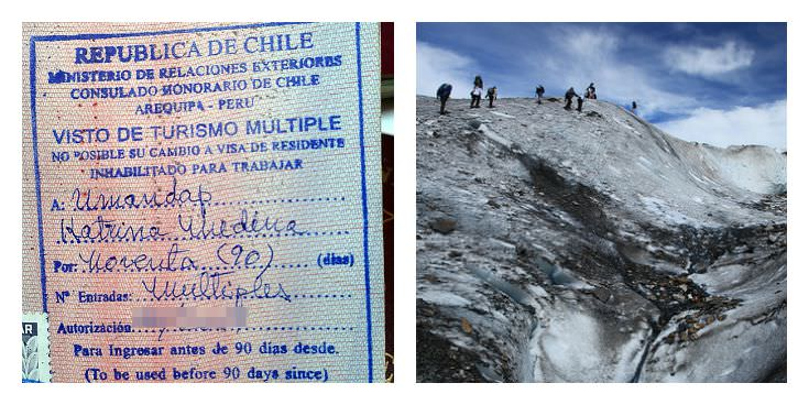 Two Monkeys Travel - Passport Stamps - Chile