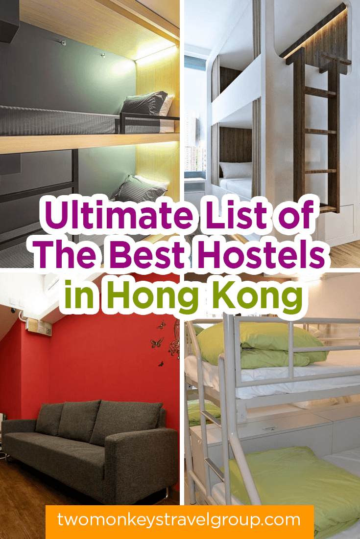 List of the Best Hostels in Hong Kong