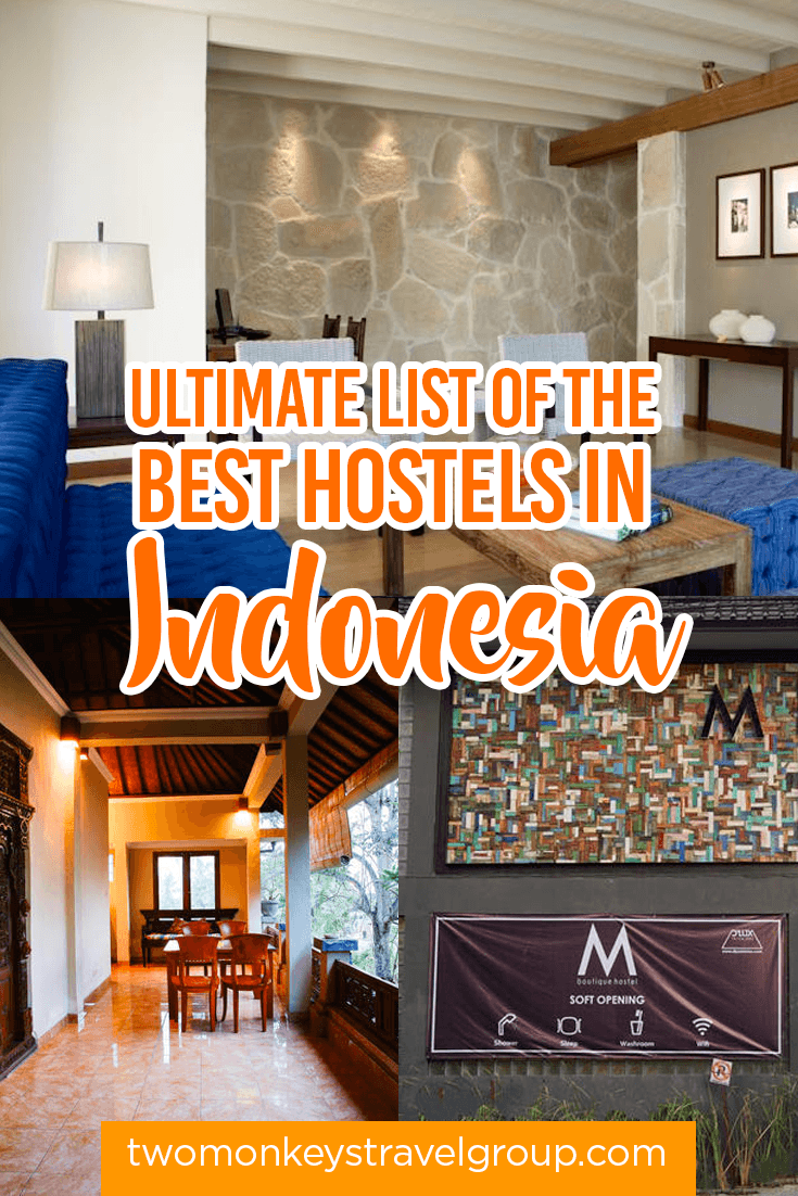 List of the Best Hostels in Indonesia