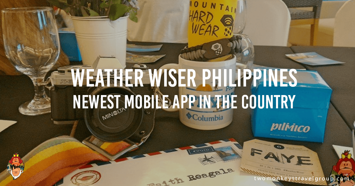 Weather Wiser Philippines, Newest Mobile App in the Country