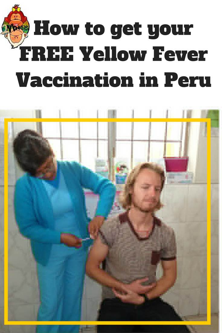 how to get yellow fever vaccine in peru