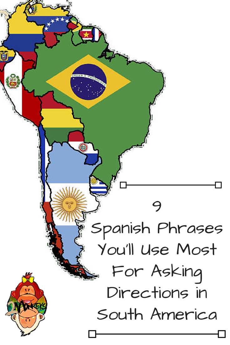 spanish phrases you need in south america