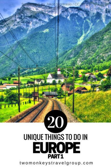 20 Unique Things to Do in Europe – Part 1