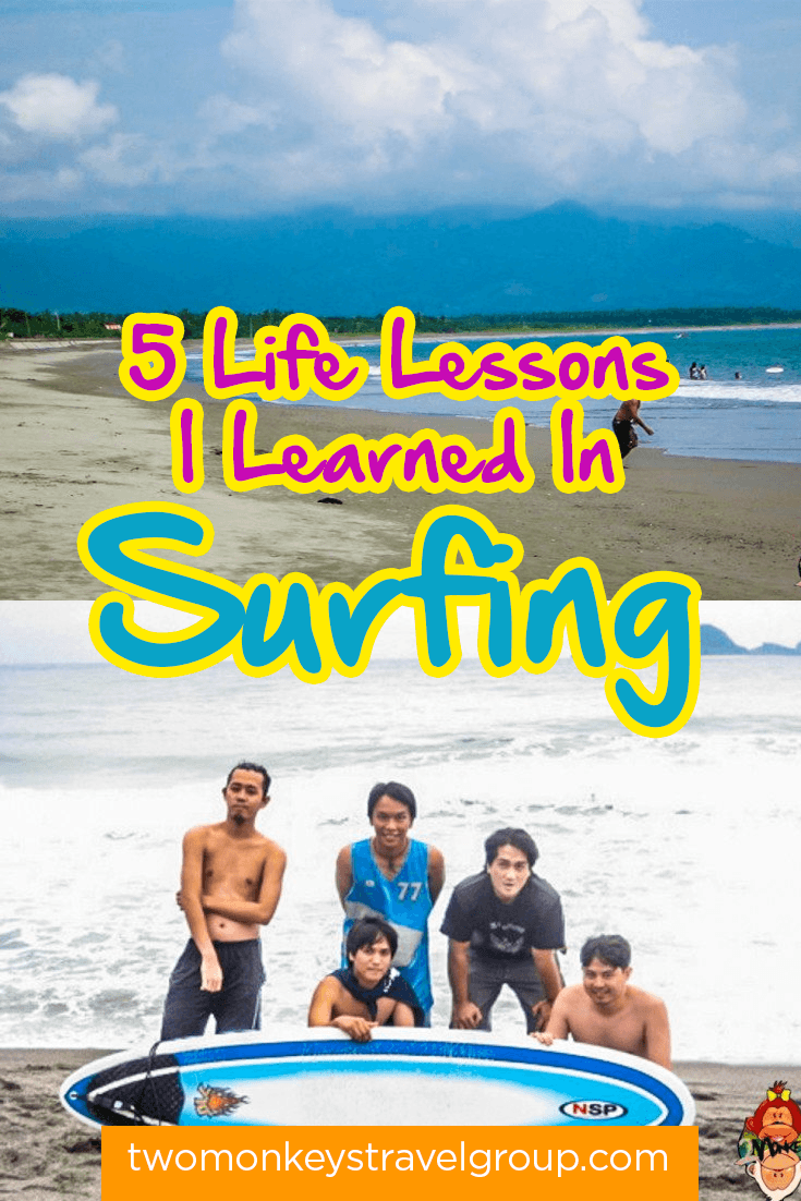 5 Life Lessons I Learned In Surfing