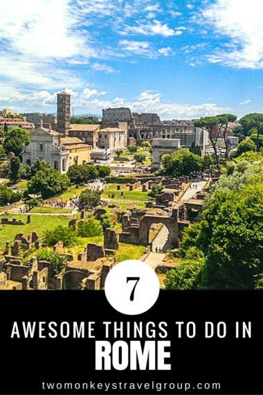 7 Awesome Things to Do in Rome