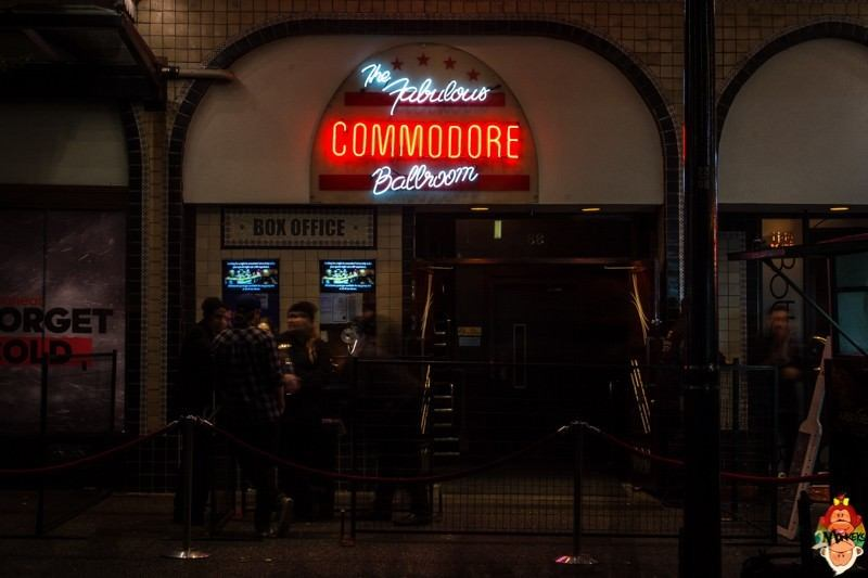 7 concert venues in Vancouver, Canada. The Commodore Ballroom.