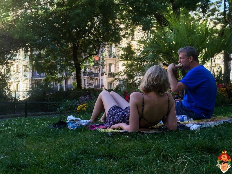 7 things to do in Paris, France - Take a picnic to the park after visiting the Sacre Couer