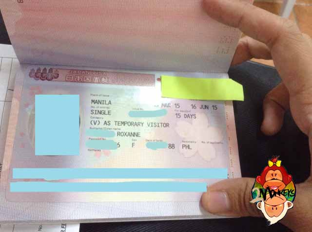 Japan Visiting Visa To Get How 107